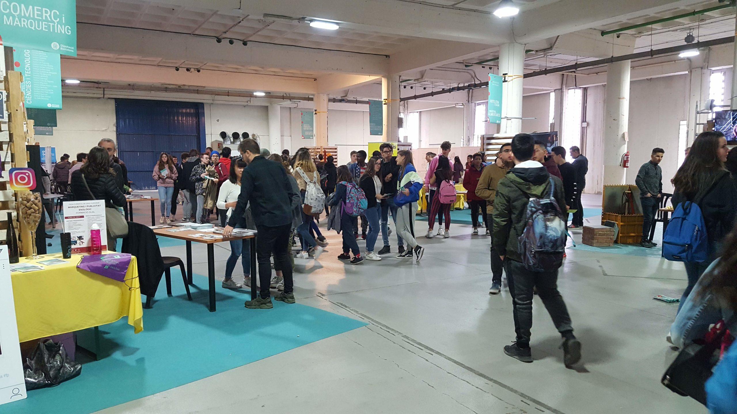 Més de 3.300 estudiants visiten la Fira