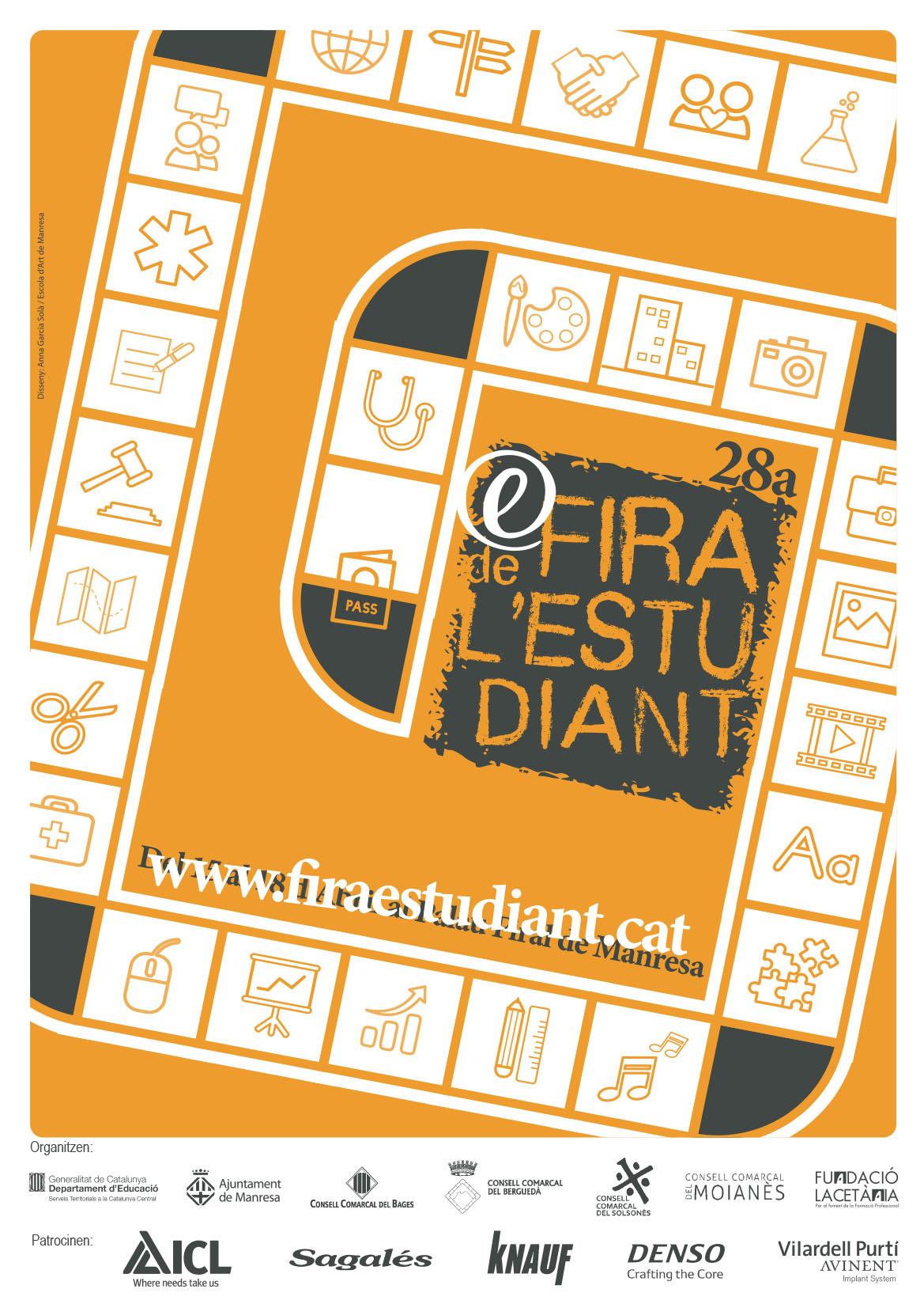 Cartell Fira de l'Estudiant 2020